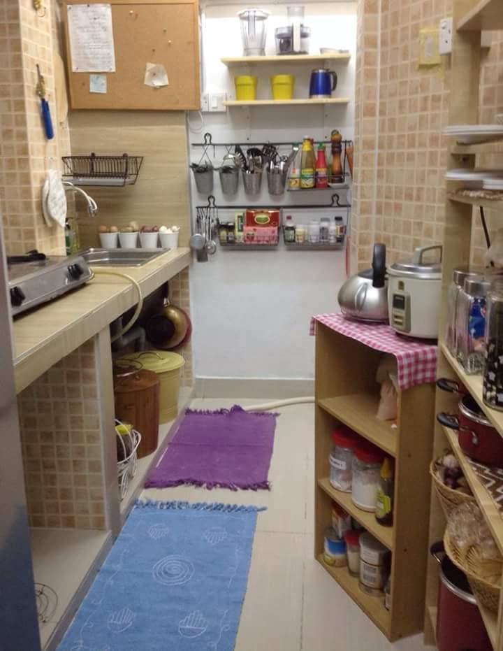 Contoh Deko Dapur Tanpa Kitchen Cabinet