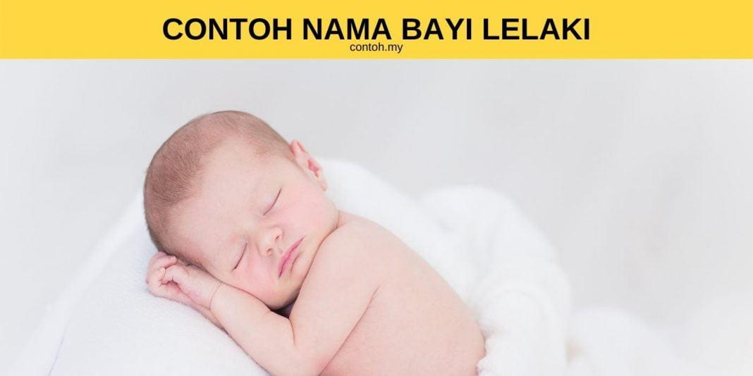Contoh Nama Bayi Islam Lelaki Bermula huruf A