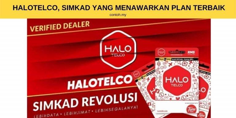HaloTelco, Contoh Simkad Yang Menawarkan Plan Terbaik