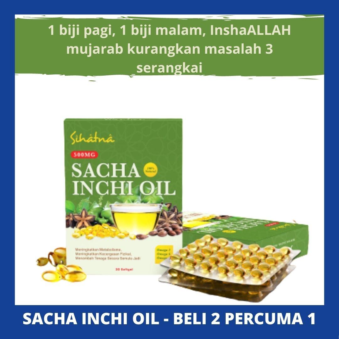 Sihatna Sacha Inchi Oil